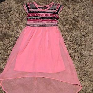 Girls pink 10/12 summer dress